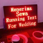 Harga Running Text di Tangerang